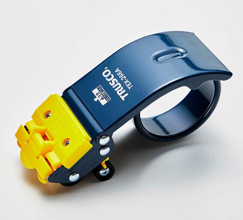 トラスコ テープカッター スチールタイプ セーフティカバー付 TEX-266A