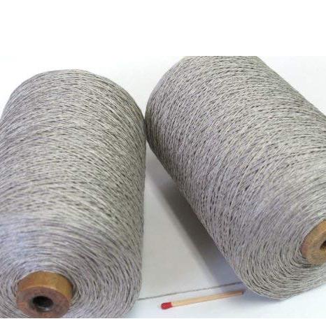 S40/4リネン(生成) しゃきっとしたコシのある清潔感たっぷりの麻糸