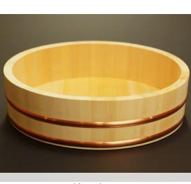 梅沢工芸社 木曽さわらの寿司桶 約3合 30cm