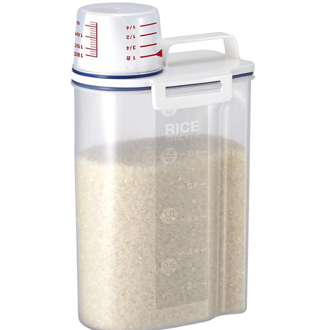 アスベル 密閉米びつ2kg