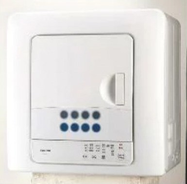 東芝 ED-608-W(ピュアホワイト) 衣類乾燥機 6kg