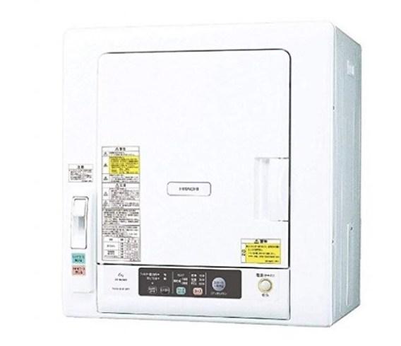 日立 5.0kg 衣類乾燥機 これっきりボタン DE-N50WV-W