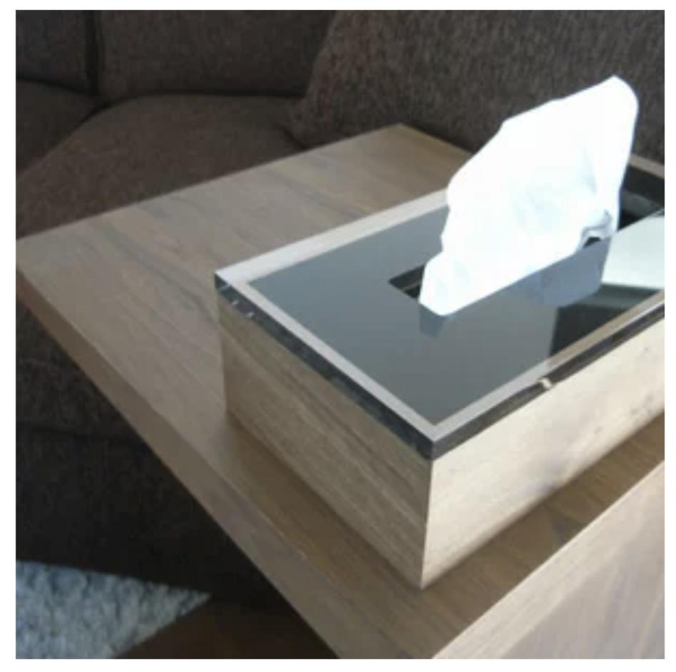 Dix/W tissue box2FGI