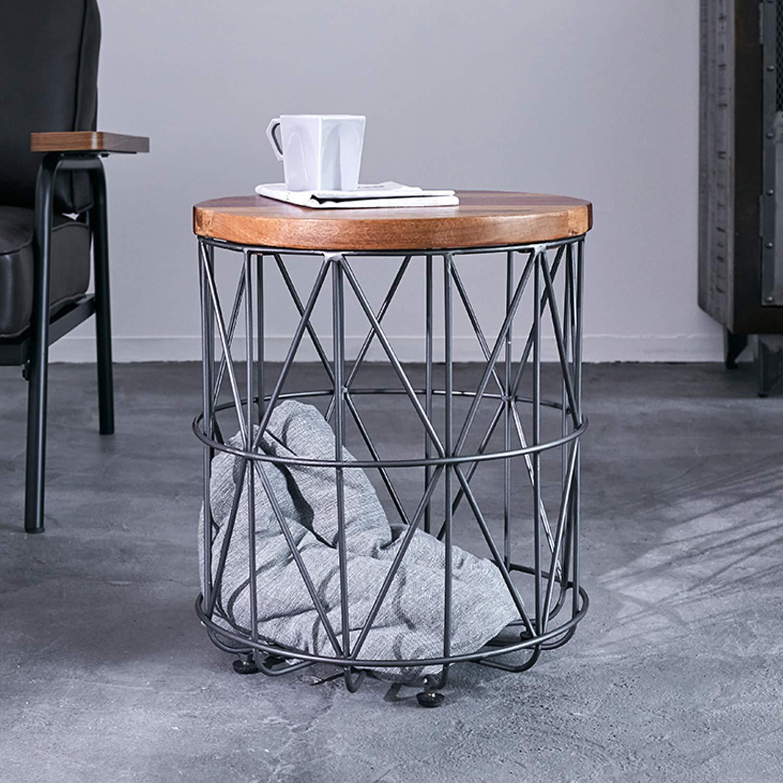 VEGA CORPORATION LOWYA ワイヤーバスケットサイドテーブル