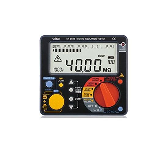 カイセ デジタル絶縁抵抗計 SK-3502