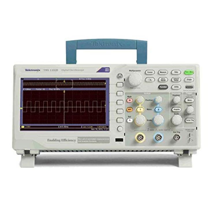 テクトロニクス社  ベーシック オシロコープ 100MHz・2GS/s・2ch TBS1102B
