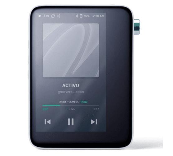 ACTIVO CT10 ハイレゾ対応ポータブルオーディオプレーヤー