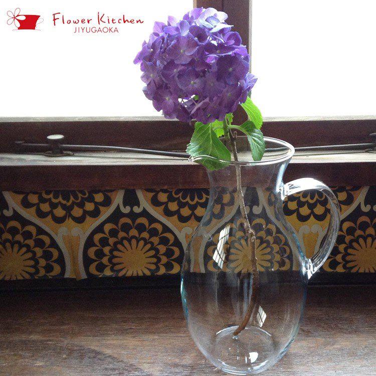 フラワーベース ガラス BC06 ボヘミアクリスタル クラシック ジャグ