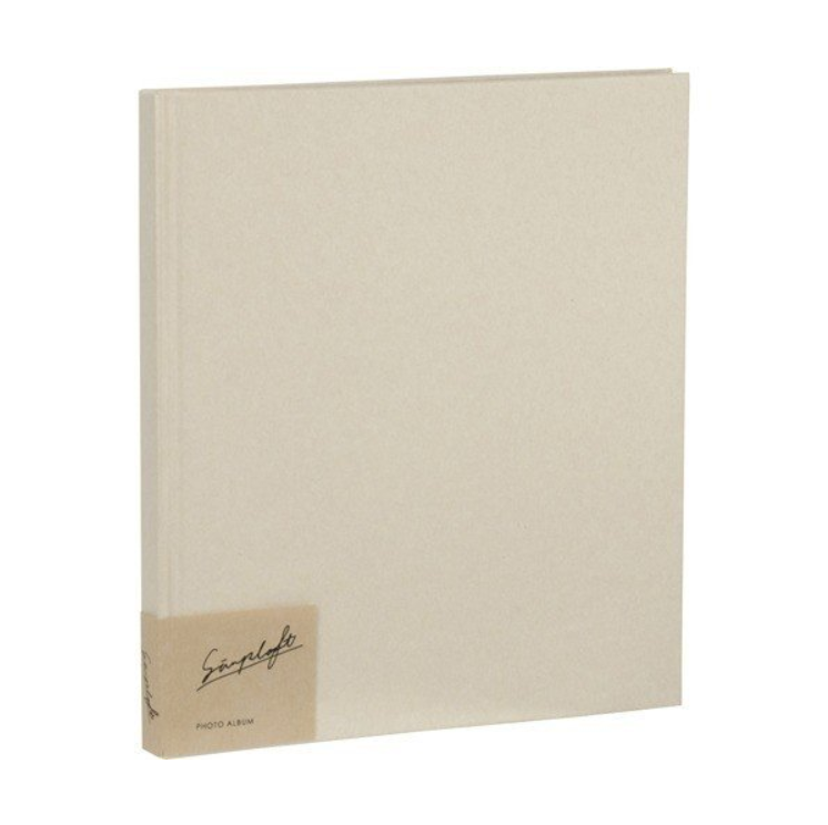 ナカバヤシ シンプラフトシリーズ ブック式フォトアルバム デミ ア-SPT-DB