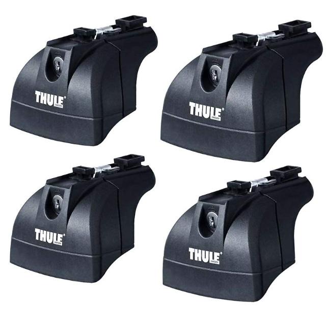 THULE スーリー ベースキャリア TH753 ラピッドフィックスポイントローフットセット TH753