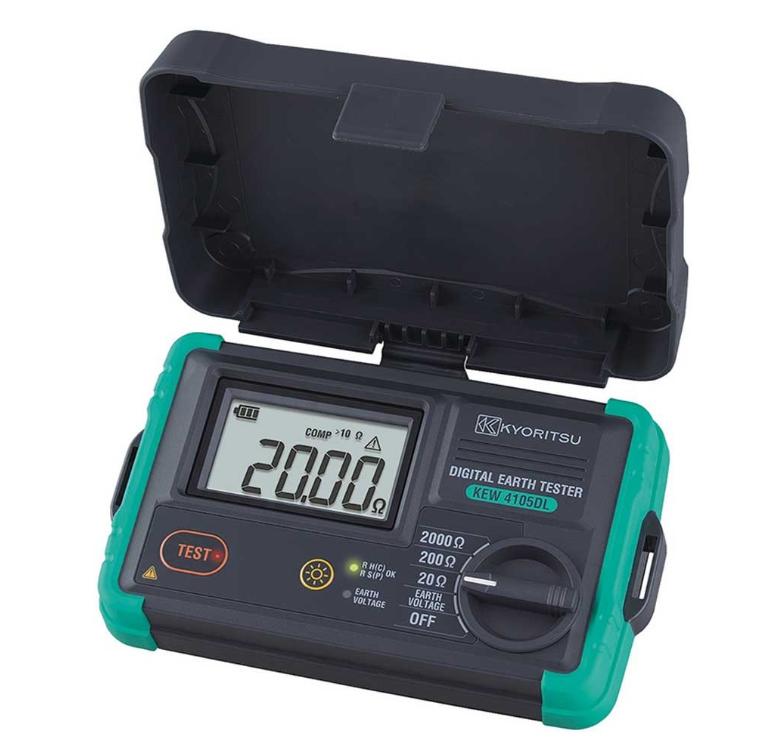 共立電気計器 デジタル接地抵抗計 KEW 4105DL