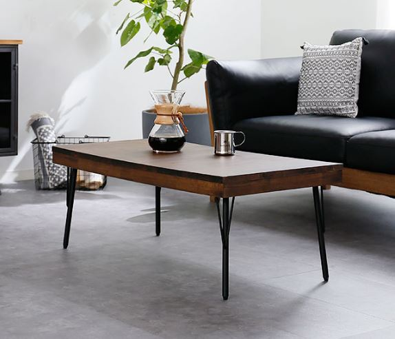 BAROCCA 古材風ローテーブル