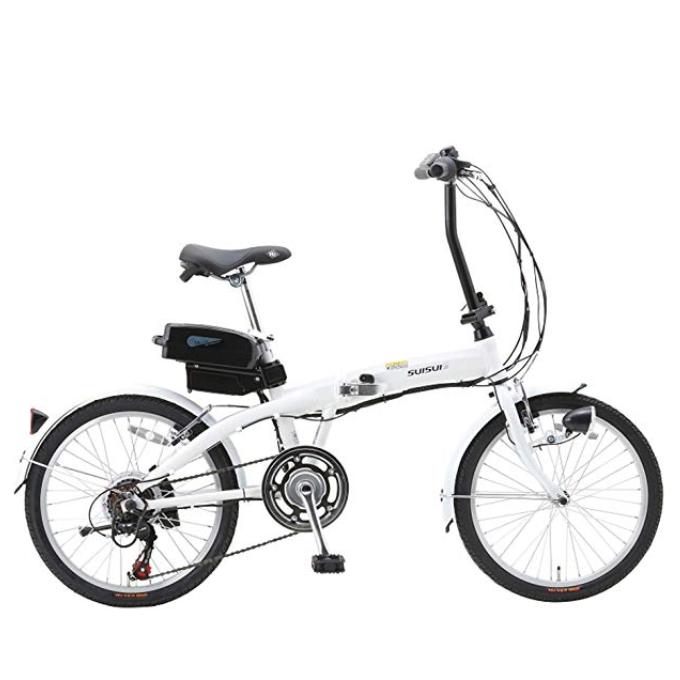 SUISUI 20インチ 折りたたみ式 電動アシスト自転車 BM-A30