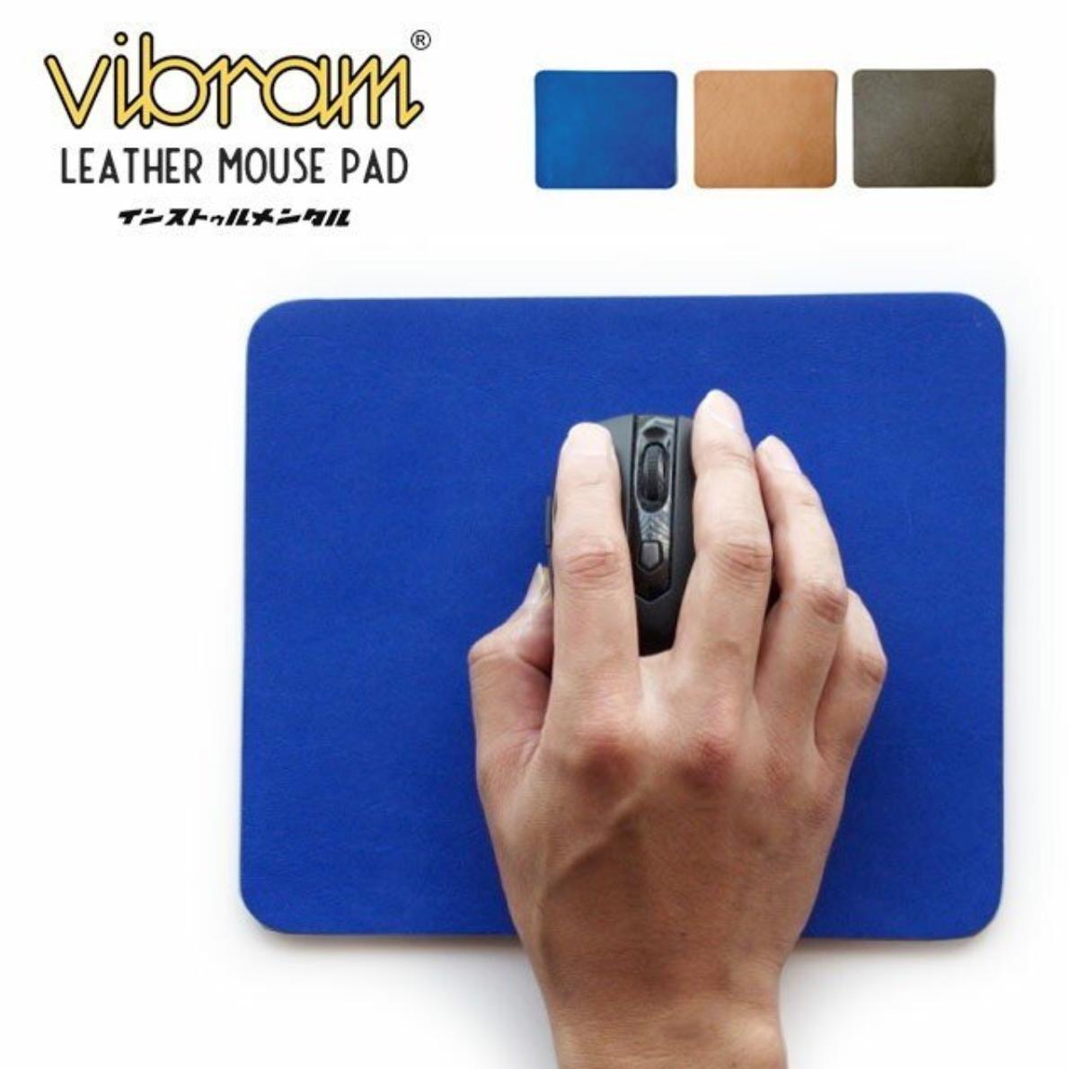 Vibram × レザーマウスパッド instrumental