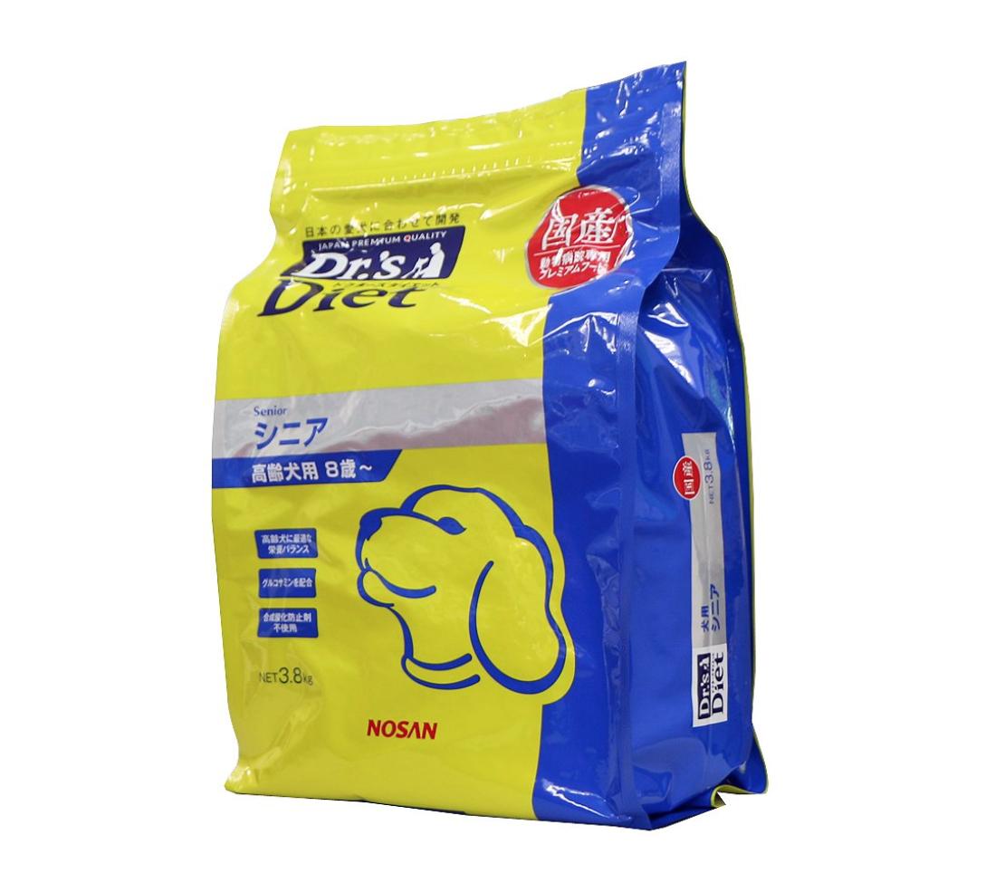 ドクターズケア ドッグフード Dr's Diet 犬用シニア 3.8kg シニア犬用