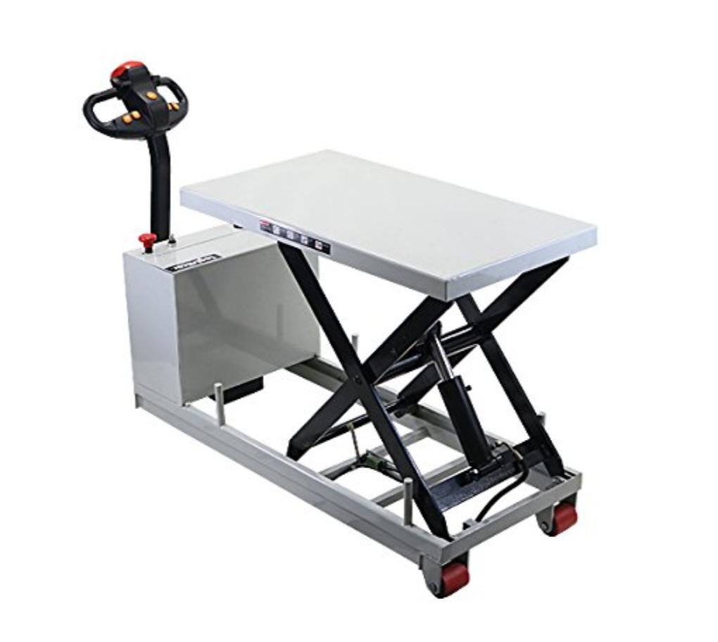 ロジスティッカー 自走式 リフトテーブル 400kg eliftmt400