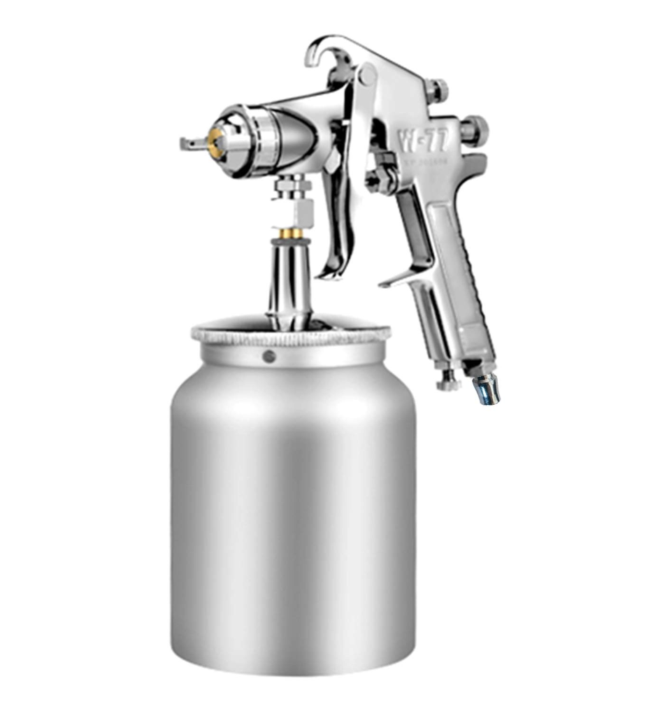 moonfarm W-77 吸い上げ式 スプレーガン 口径 2.0mm 2.5mm 3.0mm タンク容量 1000ml