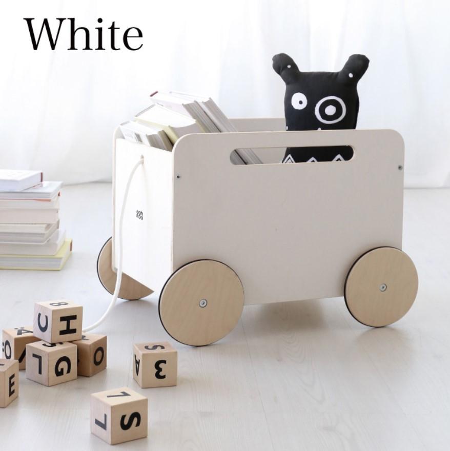 oohnoo おもちゃ箱 CA76-chestonwheels