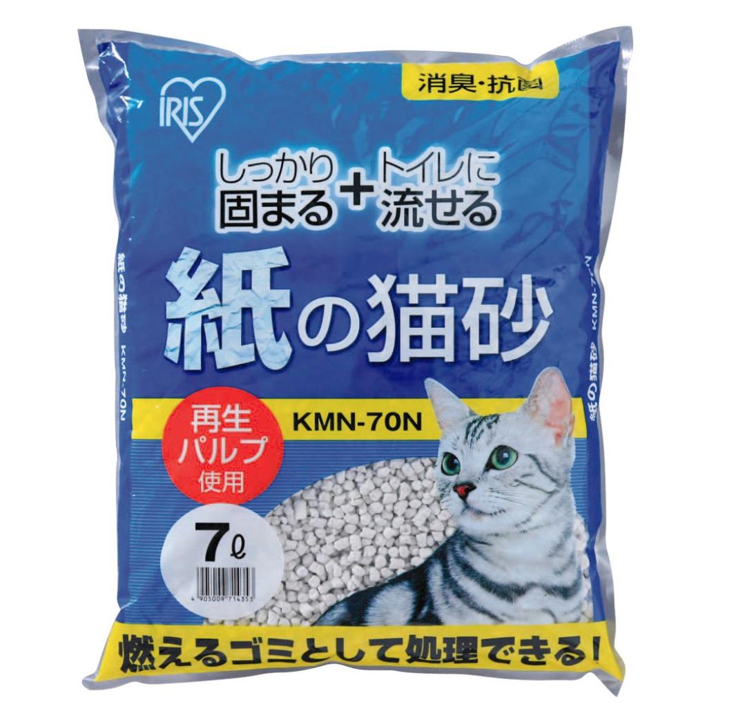 アイリスオーヤマ 紙の猫砂 7L