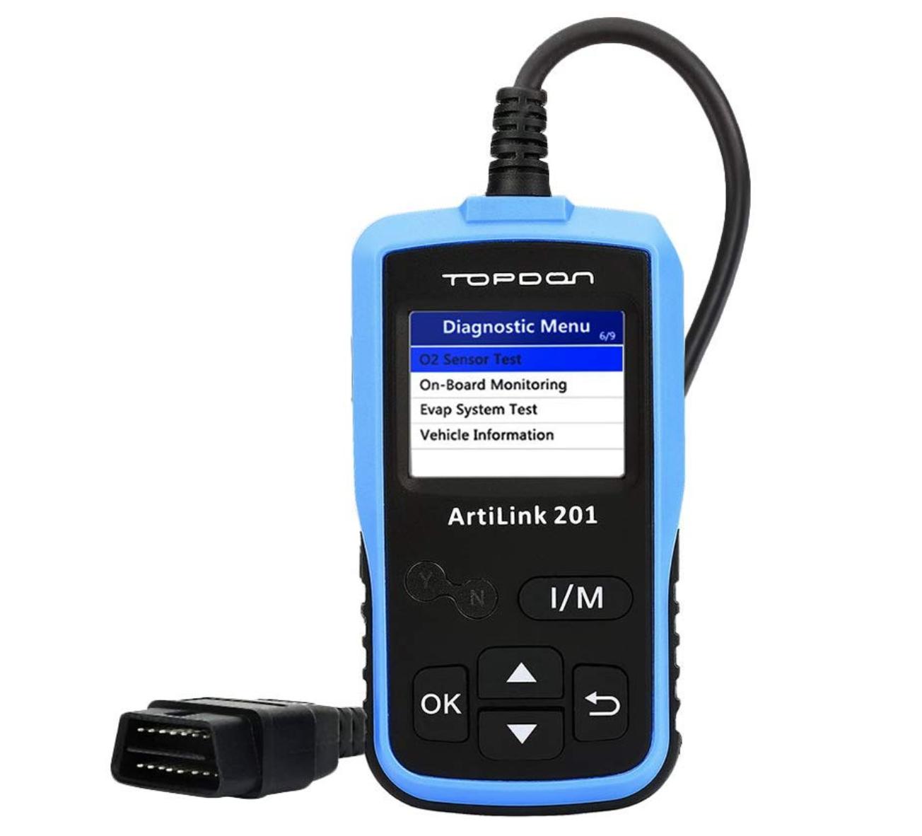 Topdon OBD2 故障診断機 日本語サポート自動車