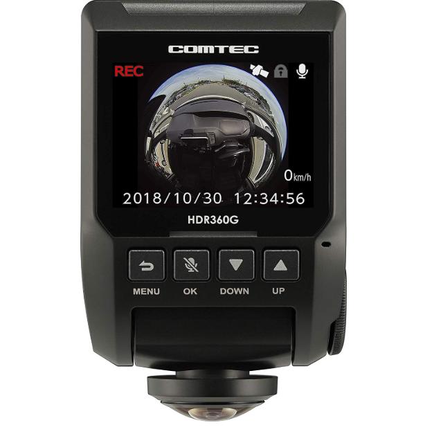 コムテック ドライブレコーダー HDR360G