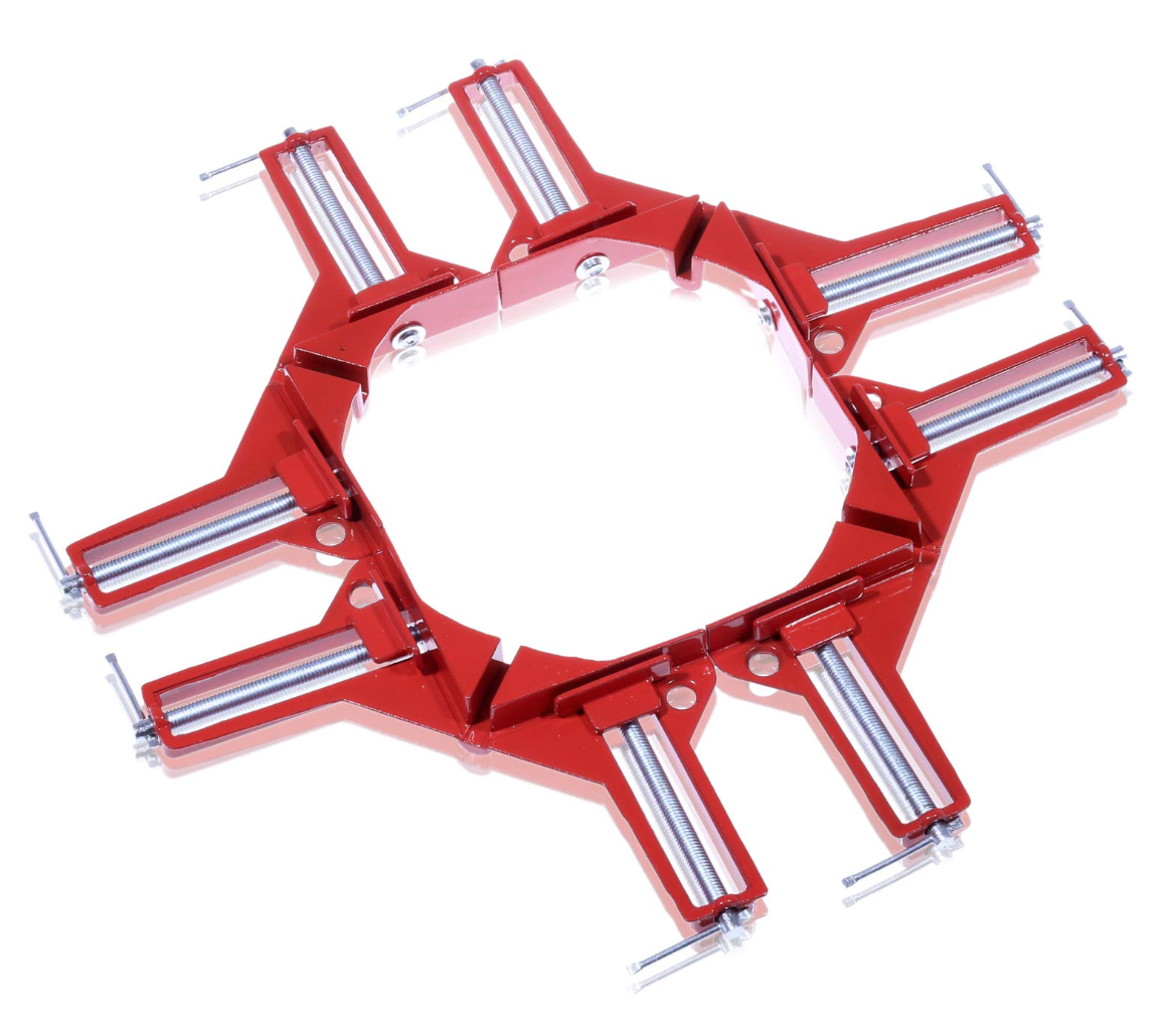 NESHEXST コーナー クランプ 木工 溶接 (4個セット)