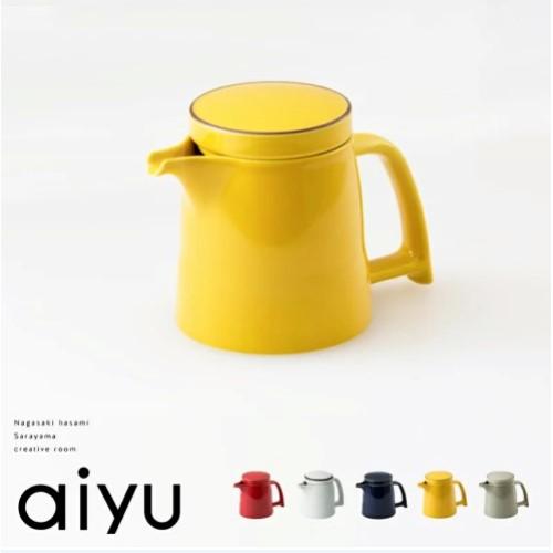aiyu (アイユー) e-シリーズ e-ポット 茶こし付 450cc 全5色