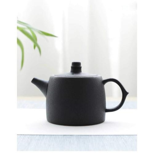陶器 急須お茶ポット 円筒形 250 ml ceramic teapot-hg