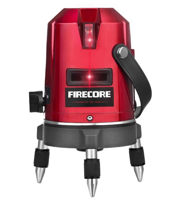 Firecore 5ライン レーザー 高輝度 墨出し器 EP-5R
