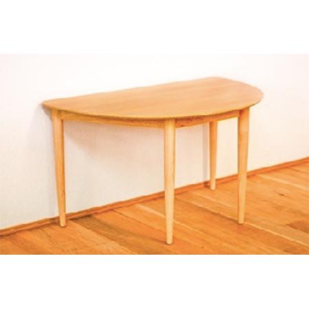 ビッグウッド オルガ 半円ダイニングテーブル 2人掛け
