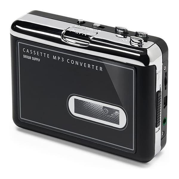 サンワダイレクト カセットテープ MP3変換プレーヤー 400-MEDI002