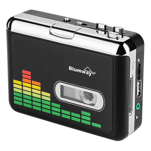 Blumway 高品質カセットテープUSB変換プレーヤー