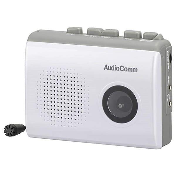 オーム電機 録音/再生カセットレコーダー CAS610Z