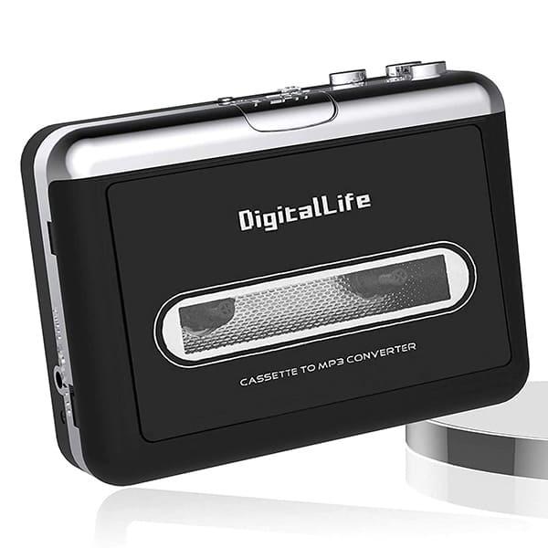 ポータブルカセットプレーヤー デジタルライフカセットテープ