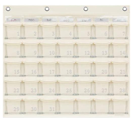 SAKI(サキ) カレンダーポケット W-416