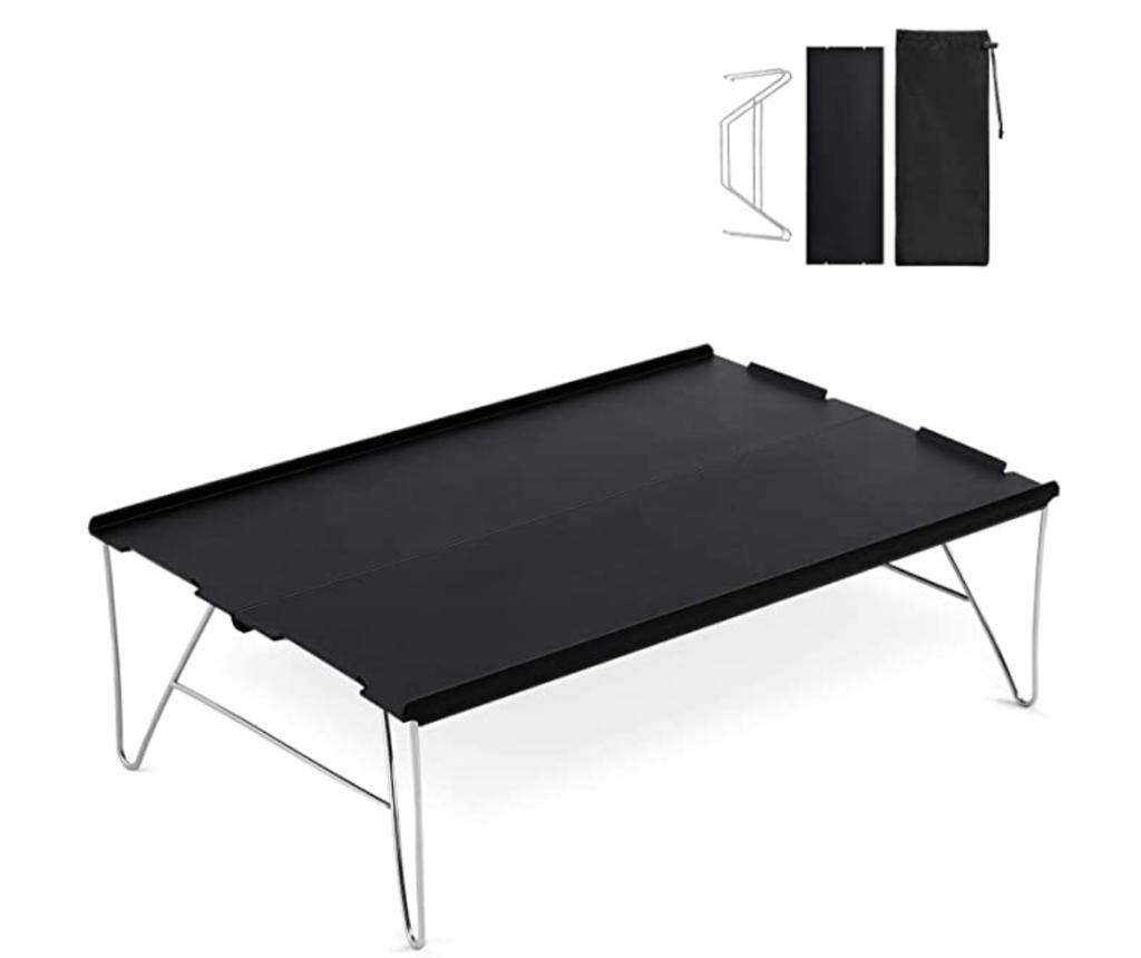 Bateruni アウトドアテーブル キャンプテーブル 折りたたみ コンパクト