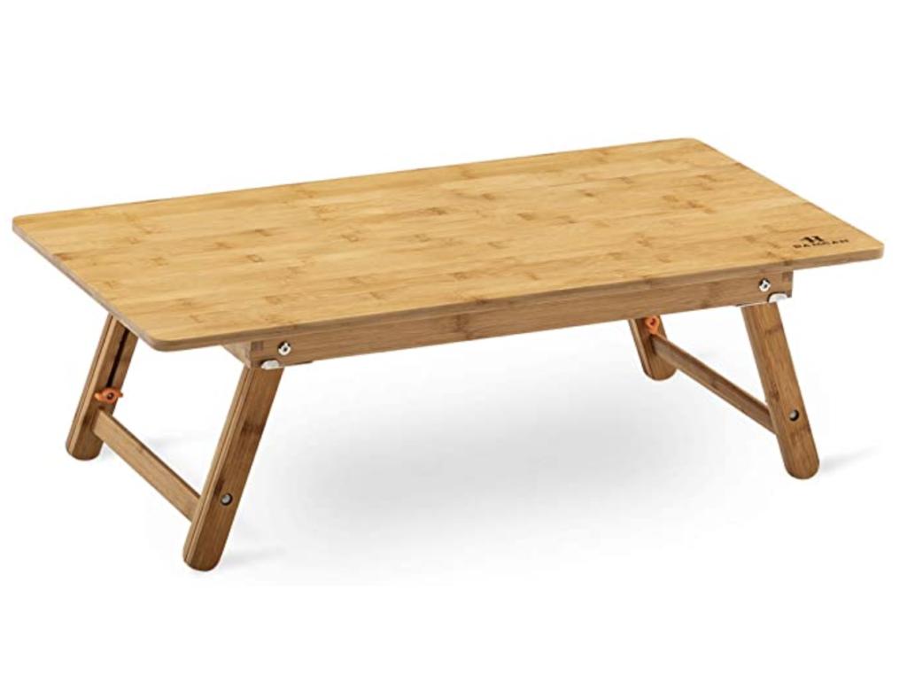 bamcan ローテーブル 折りたたみ ベッド 簡易テーブル