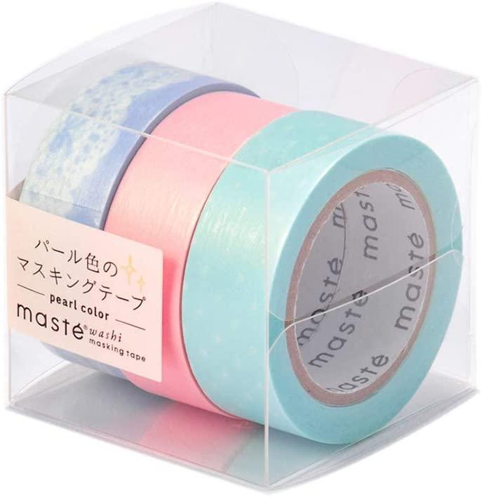 マークス マスキングテープ パール 3巻セット 「マステ」 E MST-ZB09-E