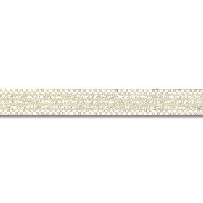 セキスイ 柄セロテープ チェッカー 15mm×25m
