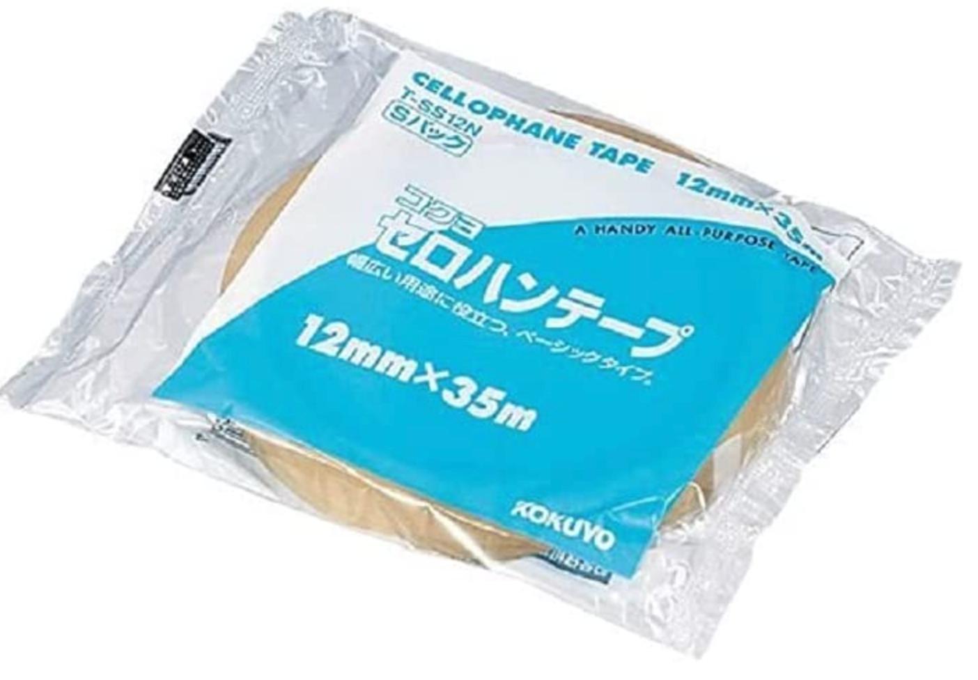 コクヨ セロハンテープ 大巻き Sパック T-SS12N